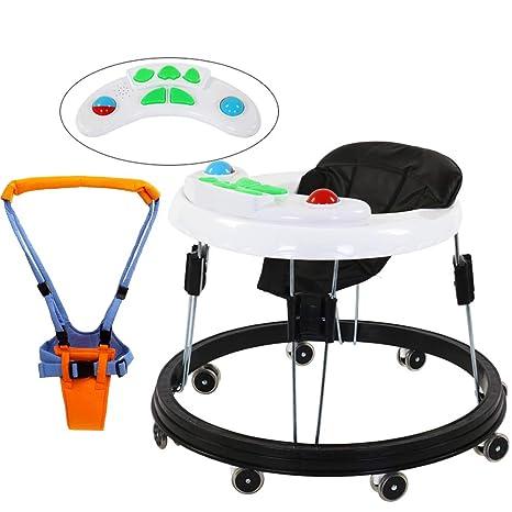 FLWVDFG Andador BebéS, 7-18 Meses Kit Plegable para BebéS ...