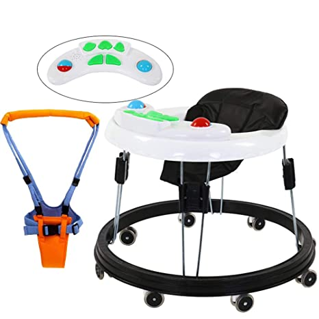 FLWVDFG Andador BebéS, 7-18 Meses Kit Plegable para BebéS con ...