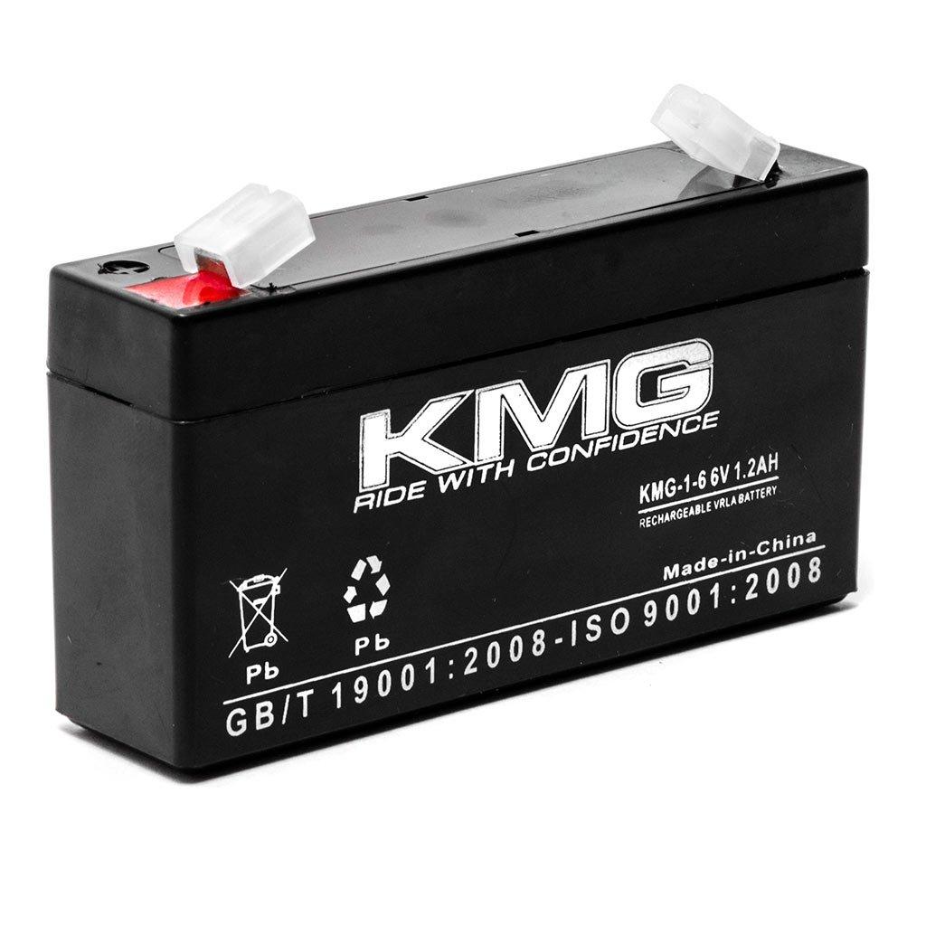 KMG 6V 1.2Ah Replacement Battery for GENERAL ELECTRIC/GE 60-914 / GE SIMON 3 KapscoMoto