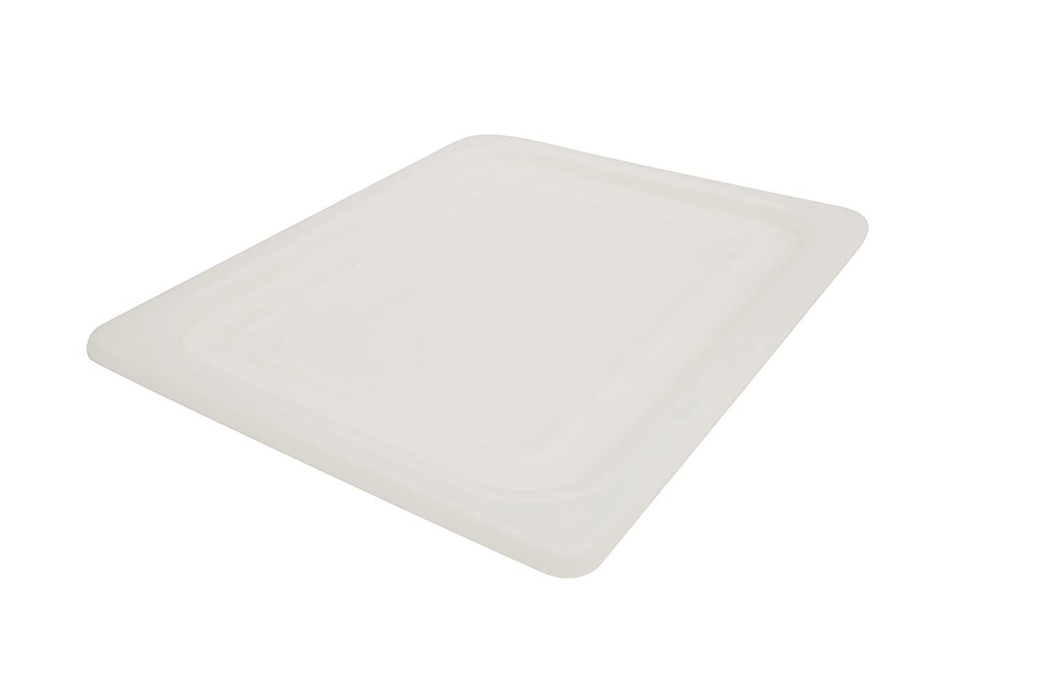 Rubbermaid Commercial Products Cold Food Soft Seal Lid, 1/2 Size, White (FG146P00WHT)