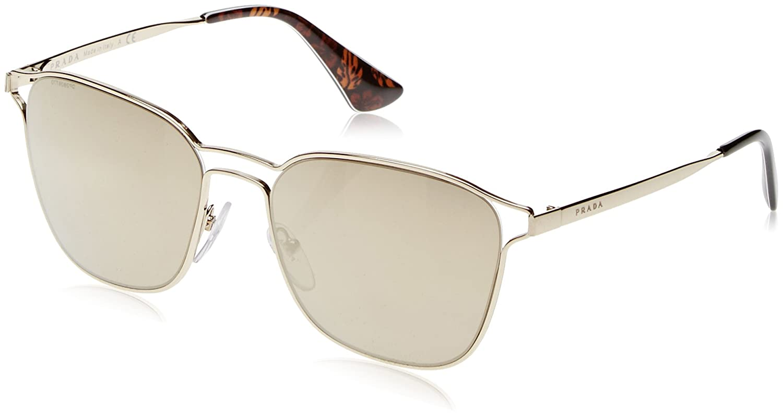 Square Sunglasses Gold Lens Prada Antique 7oe6o2 54ts Category QrtshCdx