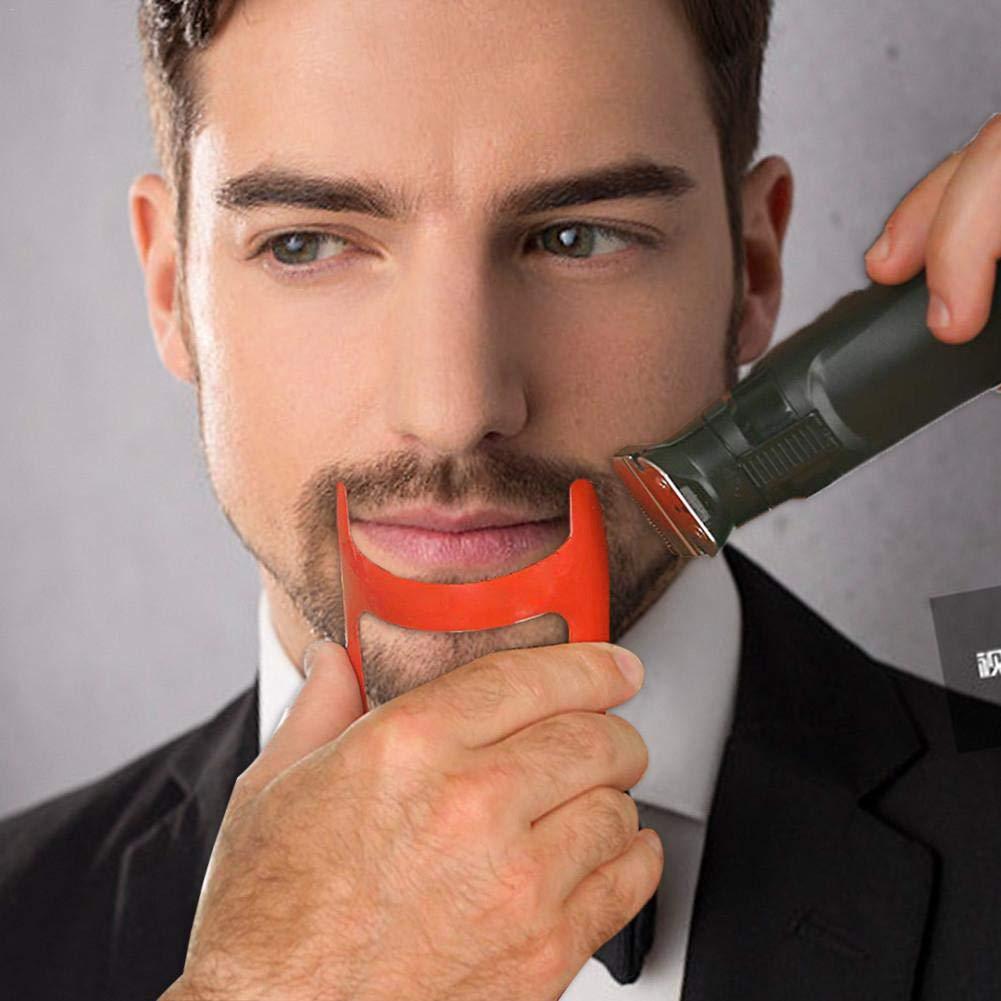 Use W // Clippers Gu/ía de plantilla para afeitar el escote Talla /única para todo el kit de aseo para cortes de cabello Borde hacia arriba de la l/ínea del cabello recta Herramienta de peinado