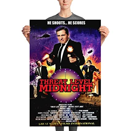 The office posters Dwight He Shoots He Scores Threat Level Midnight Great Scott Film International Michael Scott The Office Poster Eosairdropinfo Amazoncom He Shoots He Scores Threat Level Midnight Great Scott