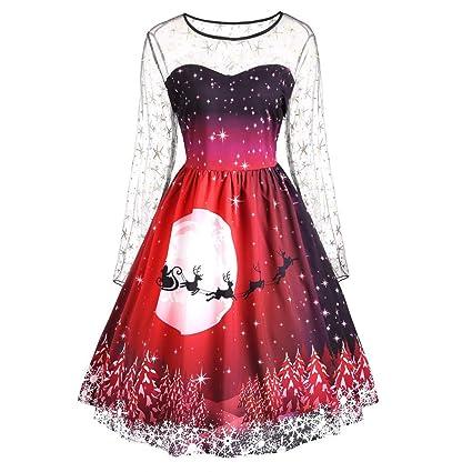 5d8469167eb Amazon.com  2018~2019 New Christmas Dress