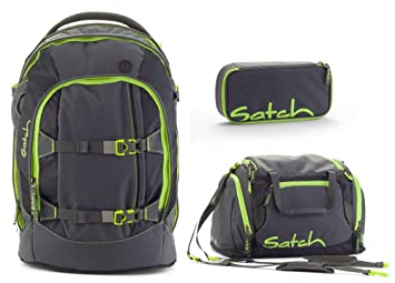 satch by ergobag phantom 5 teiliges set rucksack. Black Bedroom Furniture Sets. Home Design Ideas