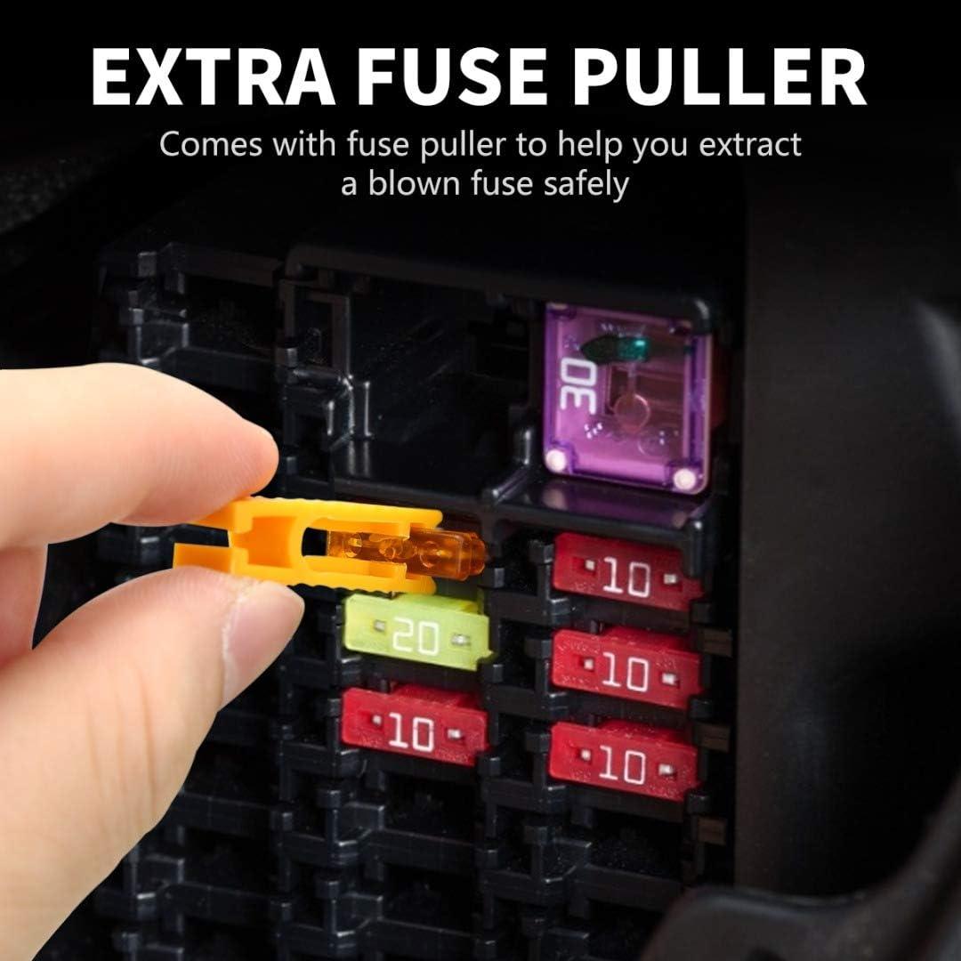 306pcs-Aebitsry Car Blade Fuses,Automotive Fuses Assortment Set ...