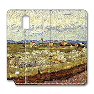 Vincent Van Gogh Design Leather Case for Samsung Note 4 No End in Sight
