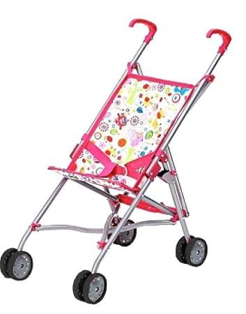 Babypuppen & Zubehör Puppen & Zubehör Puppenbuggy Puppenwagen Amia pink