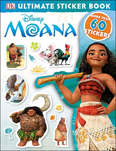 Ultimate Sticker Book: Disney Moana