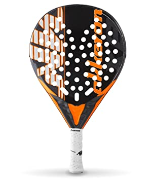 Akkeron Atlas Carbon X8 Pala de Pádel, Unisex Adulto, Naranja (flúor), Talla Única: Amazon.es: Deportes y aire libre
