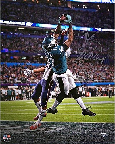 """Alshon Jeffery Philadelphia Eagles Autographed 16"""" x 20"""" Super Bowl LII Champions Touchdown Photograph with..."""