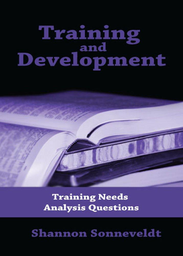 Training and Development: Training Needs Analysis Questions