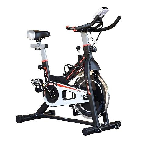 JYKJ Bicicleta de Interior 8 kg Rotación del Volante Giratorio ...