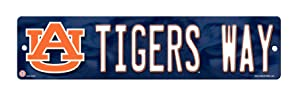 NCAA High-Res Plastic Street Sign
