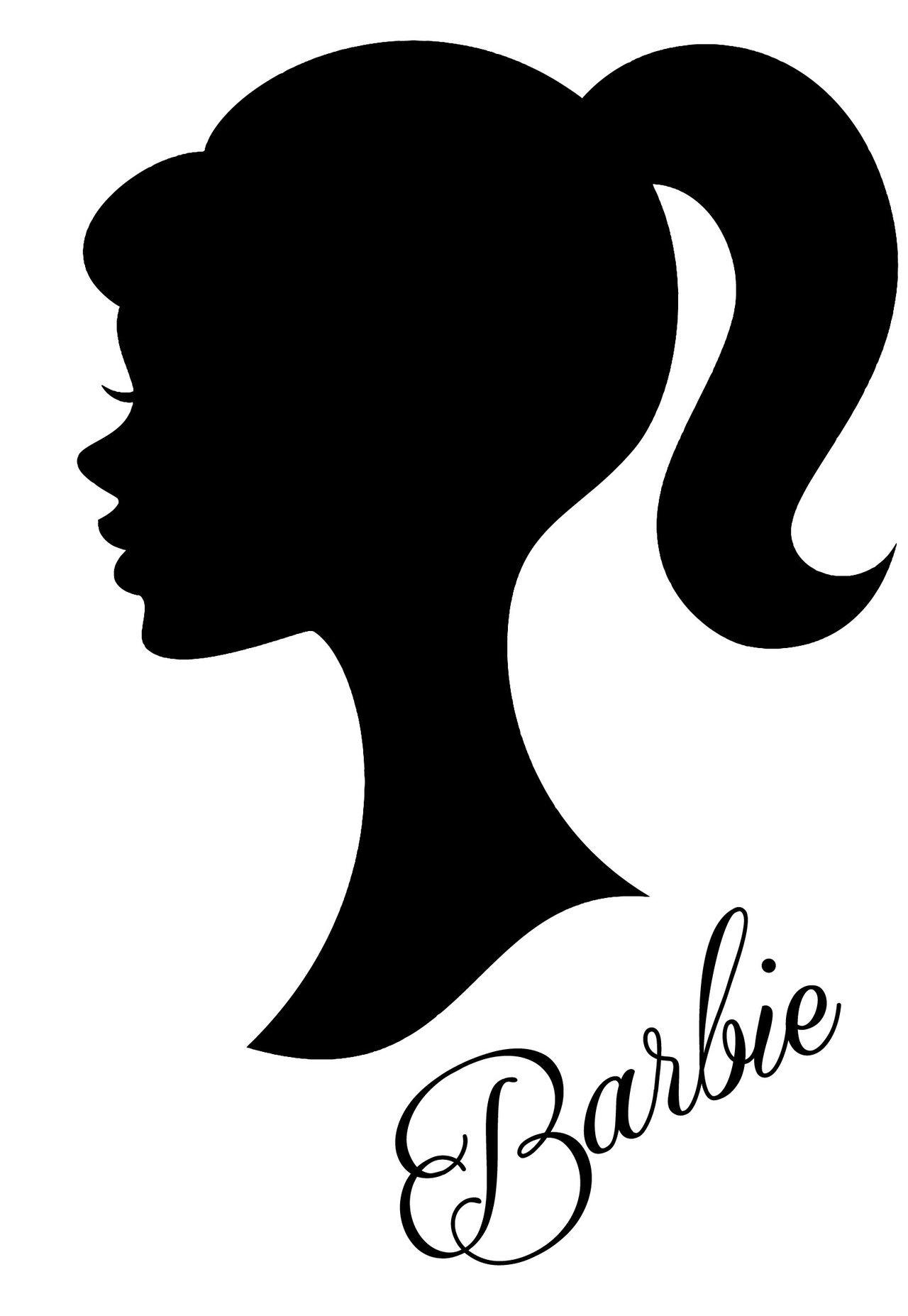Frankies Cajun Customs Barbie V2 Vinyl Decal, Wall, Car, Laptop - Lavender - 30 inch