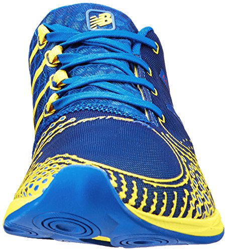 888098162721 - New Balance Men's MR00 Minimus Road Running Shoe,Blue/Yellow,11.5 D US carousel main 3