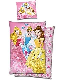 Prinzessinen Kinder Bettwäsche Kinderbettwäsche Disney Princess