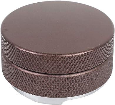 Estructura Tridimensional Diyeeni Distribuidor de caf/é 58 mm Acero Inoxidable Distribuidor de molienda de caf/é Prensador de caf/é Prensador de Polvo de Tres Hojas