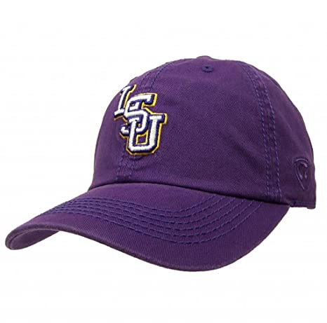 hot sales ad23d 51d7a Top of the World NCAA LSU Tigers Adult Adjustable Crew Collegiate Hat, One  Size,