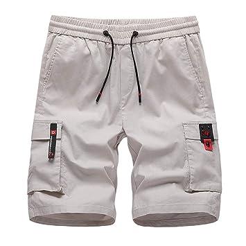 3bcfd55031 NUWFOR Mens Fashion Shorts Swim Trunks Quick Sport Beach Surfing Swimming  Water Pants(Khaki,