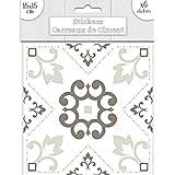6 carreaux de ciment 15x15 cm cd3897 cuisine maison. Black Bedroom Furniture Sets. Home Design Ideas