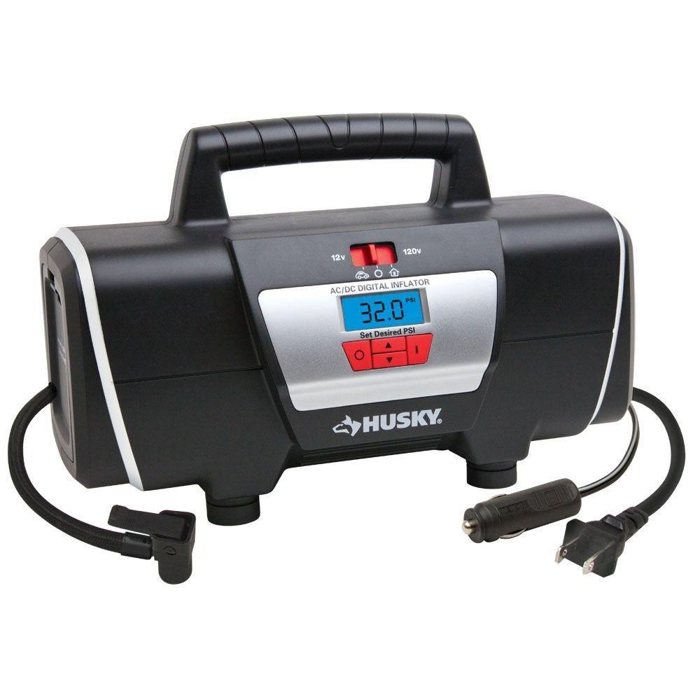 12-Volt/120-Volt Home and Auto Inflator