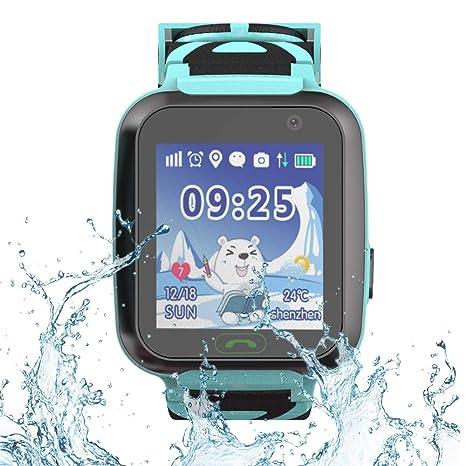 9Tong Kids Tracker Relojes con GPS SOS Tarjeta SIM Niños Smartwatch Niños Reloj de Pulsera Inteligente