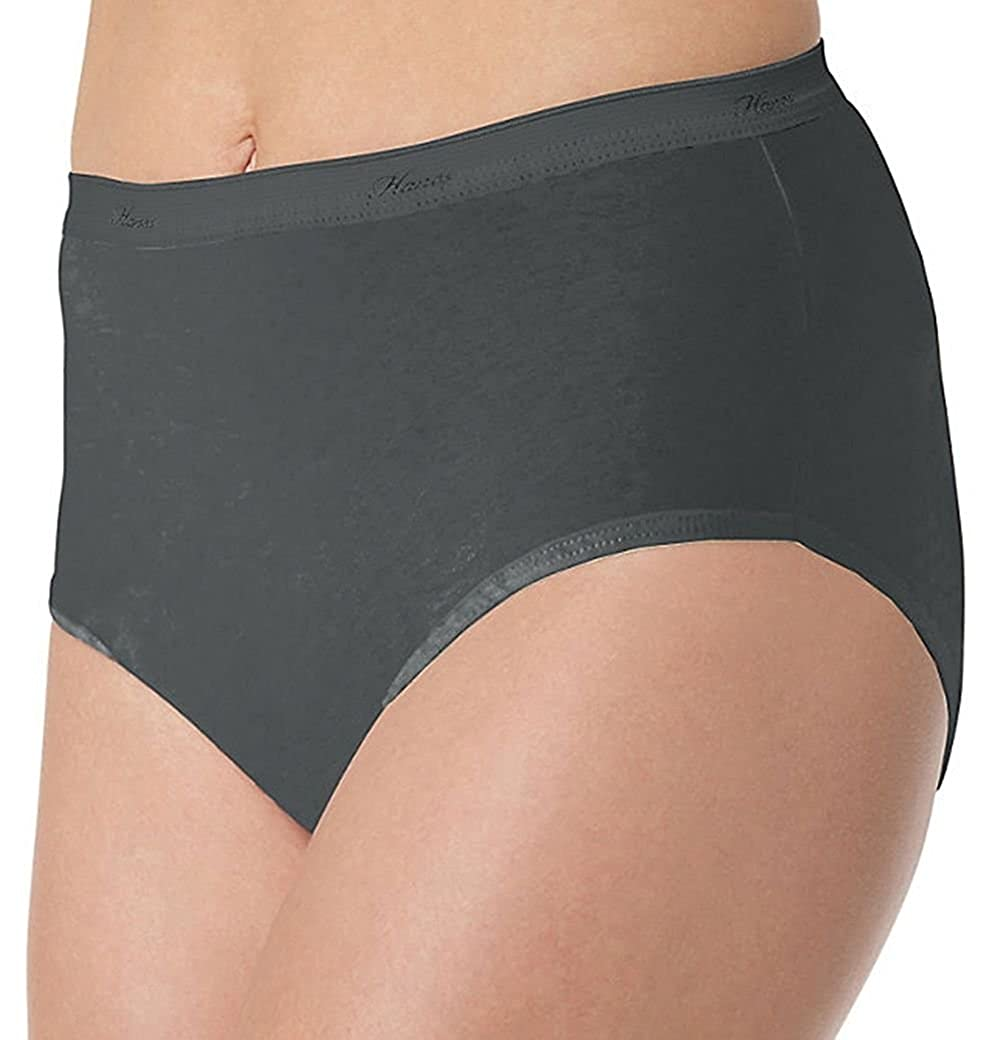 Hanes Women's Core Brief Panty (Pack of 6) Hanes Womens Panties PP40WH