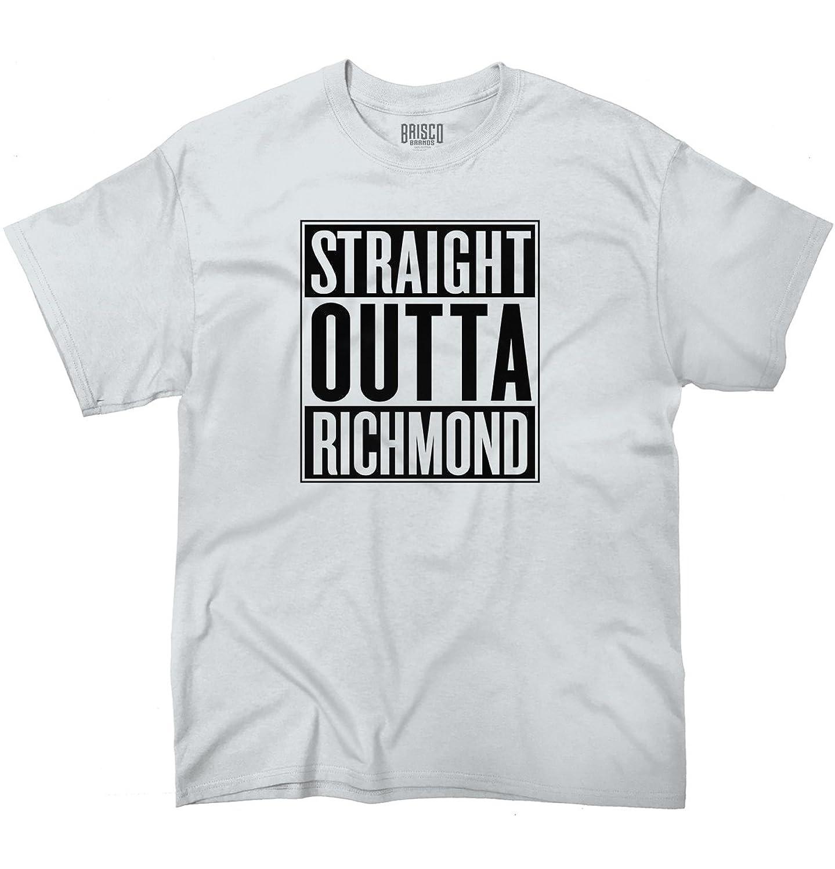 T shirt design richmond va - Straight Outta Richmond Va City Funny Movie T Shirt Gift Idea T Shirt Tee