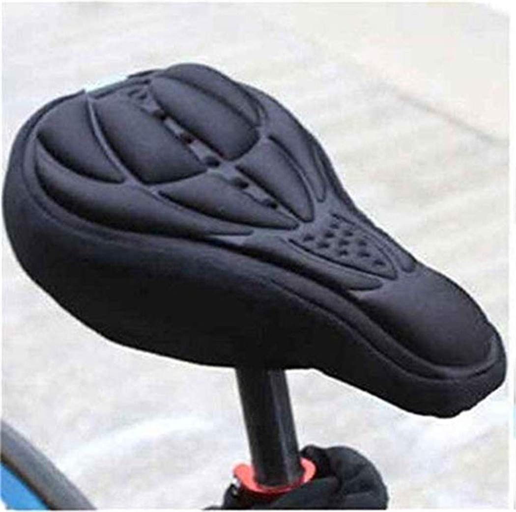 CARDEON Bike Seat Cover- Extra Soft Gel Bicycle Seat - Bike Saddle Cushion with Water&Dust Resistant Cover