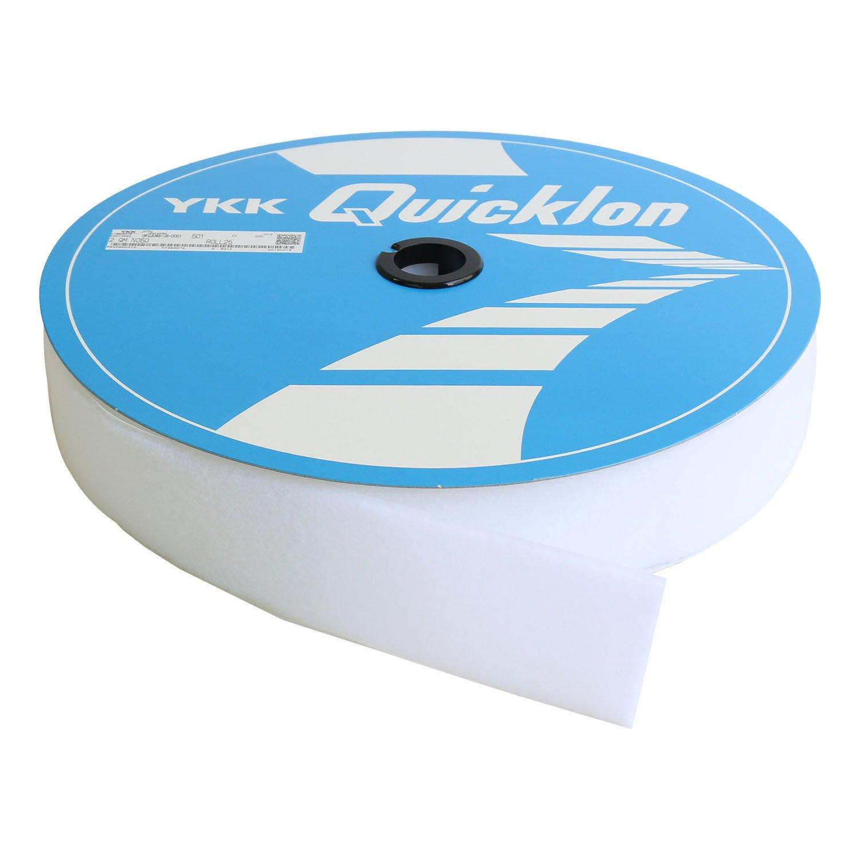 NBK クイックロンモヘア B面 縫い付けタイプ 白 巾5cm×25m巻 QN50-501-25B 白  B07DNJNMMN
