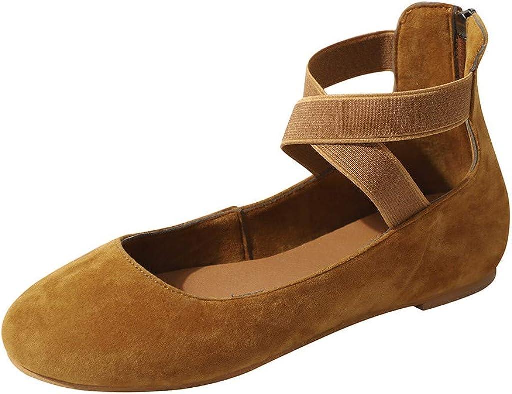 Sandalias Mujer Verano 2019 Sandalias Planas Yoga Sandalias de Vestir Playa Chanclas para Mujer Zapatos Sandalias de Punta Abierta Roma Casual Sandalias Fiesta Cómodo Flip Flop vpass