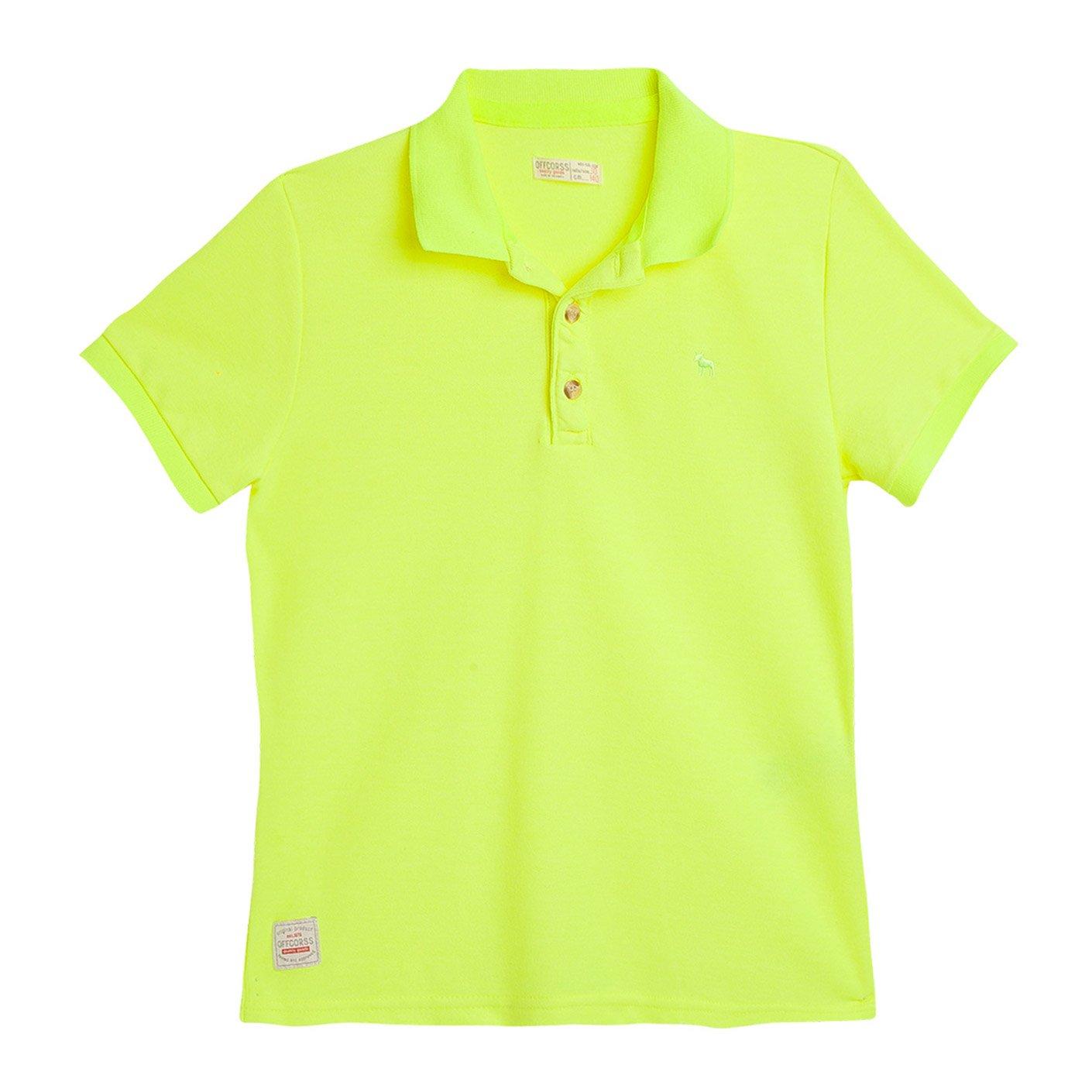 Galleon - OFFCORSS Cotton Polo Shirts For Teen Boys Camisetas Tipo Polo De  Niño Yellow 12 883ce75f701d2