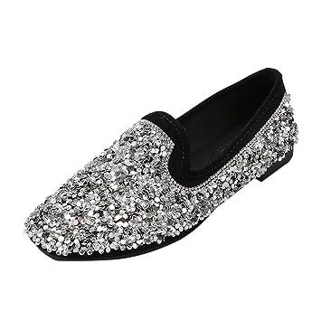 0f7035ffe852f Amazon.com: Mother's Day Sale Jiayit Womens Slip-on Flat Sneaker ...