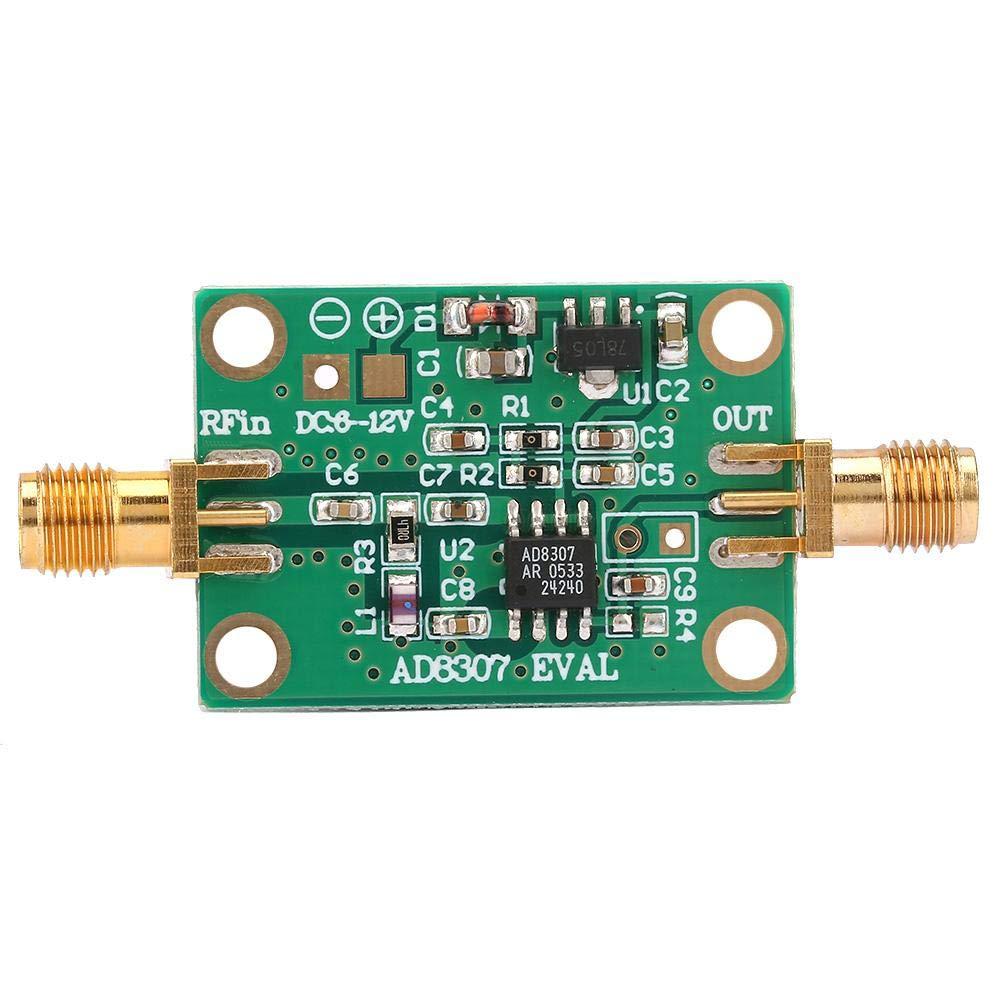 Leistungsmesser Ad8307 Rf Leistungsmesser Logarithmischer Prüfdetektor 0 1 600m 75 15dbm Modul Gewerbe Industrie Wissenschaft