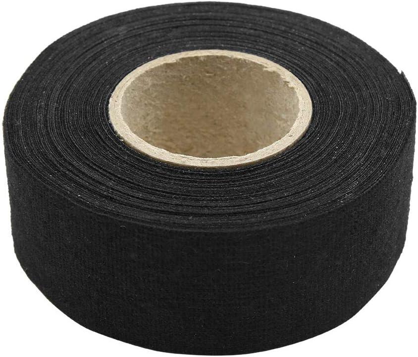 X AUTOHAUX - Cinta Adhesiva para Cables de Coche (32 mm x 15 m), Color Negro: Amazon.es: Coche y moto