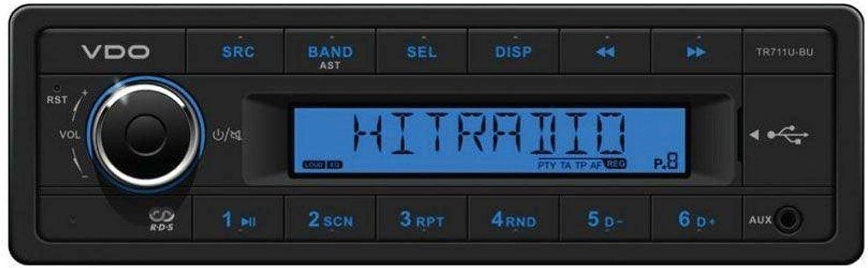 Siemens Vdo Vdo Tr711u Bu Media Tuner Aux Usb Elektronik