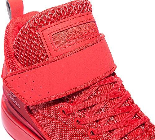 Adidas Veritas-X K - lusred/lusred/lusred, Größe:3.5
