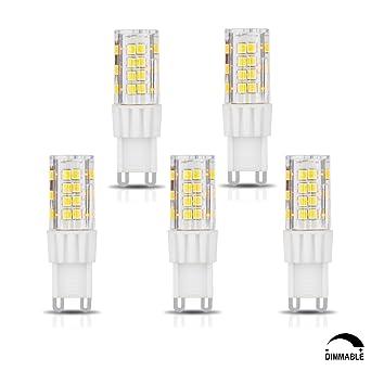 Smd Watts Ac Dimmable Led 2835 Culot G9 240v 5w Ampoule Blanc Neutre 5 4500k 220v Consommés Tamaykim 450lm 50w De Équivalent Angle dxrCoWBe