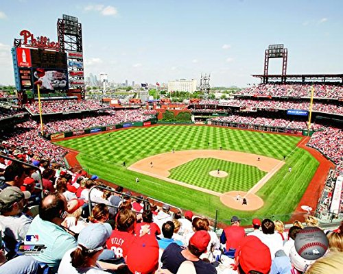 Citizens Phillies Bank Park - MLB Citizens Bank Park Philadelphia Phillies Stadium Photo (Size: 8