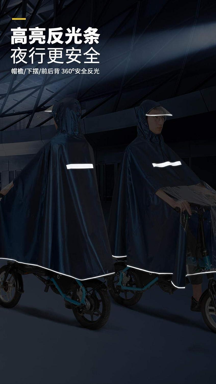 poncho impermeable Chubasquero especial para el autom/óvil del conductor para ayudar al autoabastecimiento del auto impermeable para sillas de ruedas para hombres y mujeres impermeable para bicicleta
