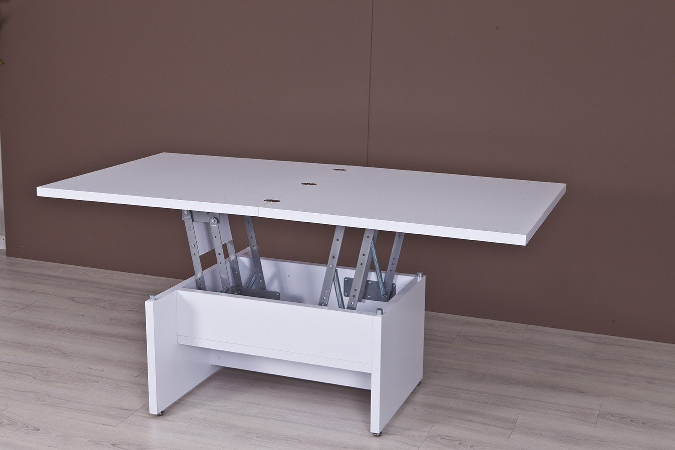 Mesa de Centro Sabadell 2050 blanco: Amazon.es: Hogar
