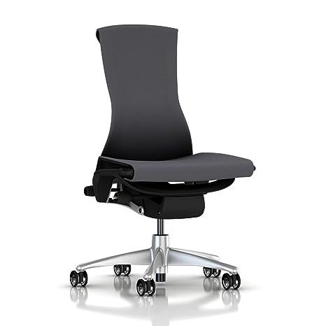 Amazon.com: Herman Miller Embody silla ruedas: Armless ...