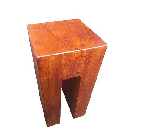 Pino n en forma de pie de lámpara mesa @ 50 cm de alto x 30 cm