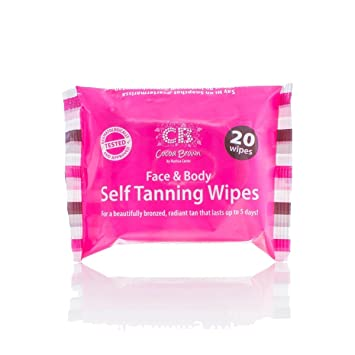 cocoa brown self tanning wipes