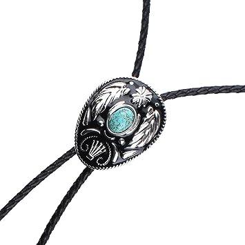 Gazechimp corbata bolo accesorios para traje collar esmalte natural  turquesa vintage estilo vaquero juguetes juegos jpg 9f82a50e63f