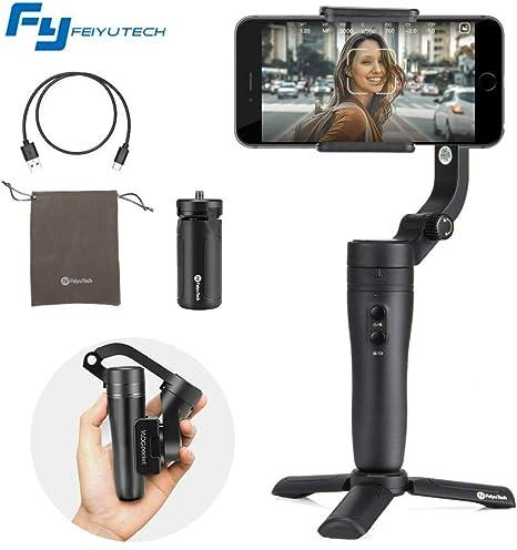 FeiyuTech Vlog Pocket 3-Axis Foldable Gimbal Stabilizer for ...