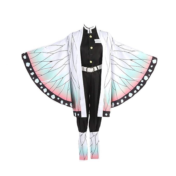Amazon.com: DUNHAO COS traje de uniforme de mujer de Kimetsu ...