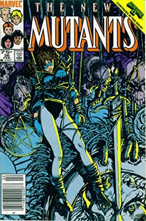 The New Mutants #36 : Subway to Salvation (Secret Wars II - Marvel Comics)