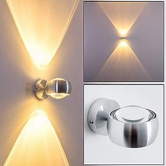 metall mit effekt licht an der wand in silber halbrunde moderne wohnzimmerleuchte mit glas linsen fur led oder halogen lampen amazon de beleuchtung